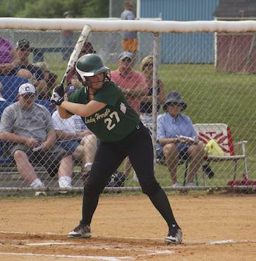 Lady Hornets knock off defending state champs, reach District final