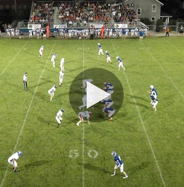 North Wins All-Star Football Game