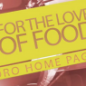 For the Love of Food Promo