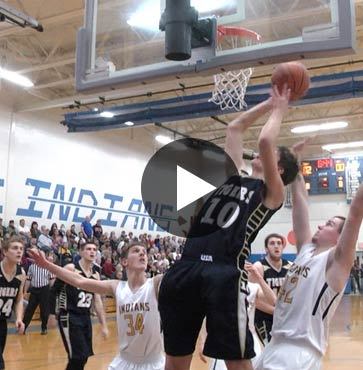 Tigers Claw Indians, 68 to 51
