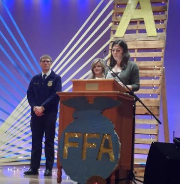 2016 Grand Canyon FFA banquet
