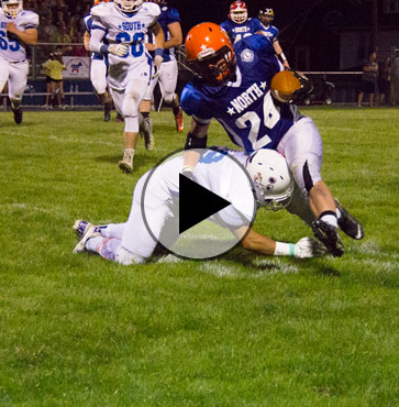 North Squad takes All-Star football win!