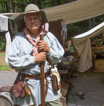 Reenactors Portray 18th Century Living