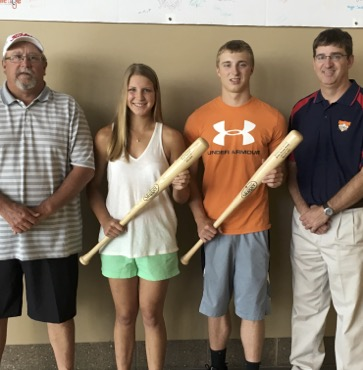 Prough, Ingerick honored by Wellsboro Athletic Department