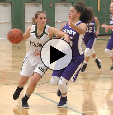 Coudy edges Lady Hornets, 50-42