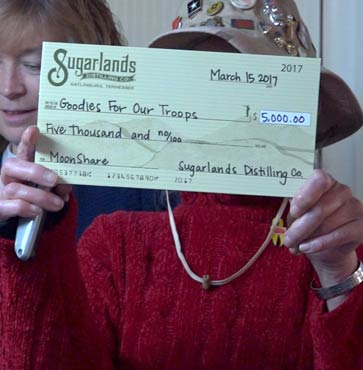 Goodies For Our Troops Receives $5,000 Grant!