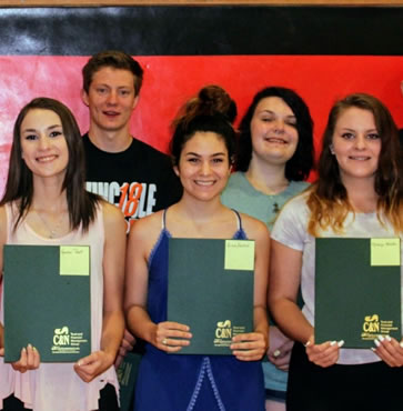 Eight Students Awarded with Galeton Foundation Scholarship