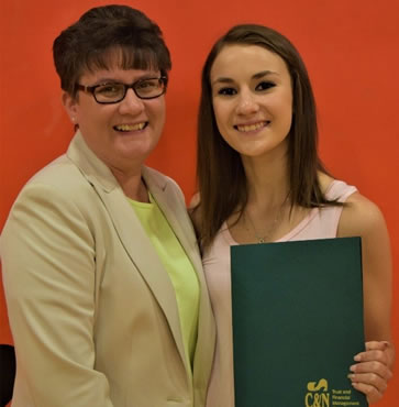 Post Awarded Kramer Family Galeton Charitable Trust Scholarship