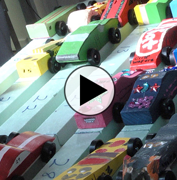 Kids Cars Speed to the Finish!