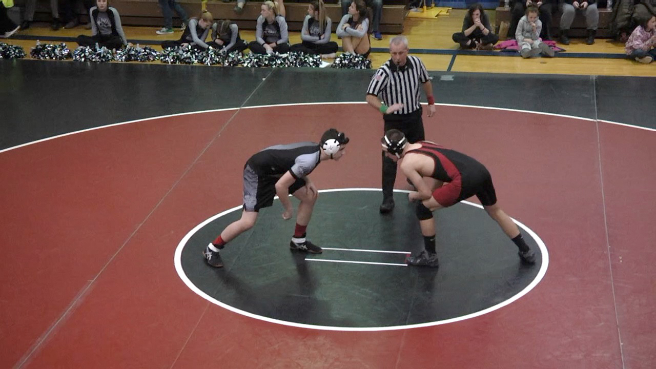 Liberty Wrestling falls to Athens