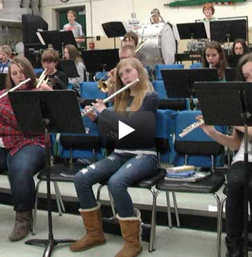 Local Schools Host Holiday Concert!