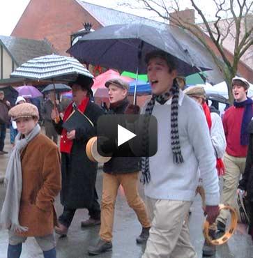 Singin' in the Rain at Dickens!