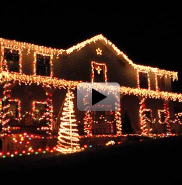 Christmas Lights Up Wellsboro!