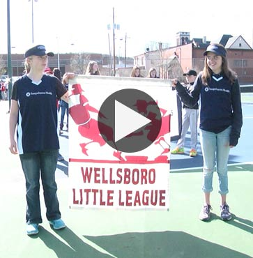 Wellsboro Little League Opening Day!