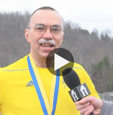 Boston Marathon Runner Returns!