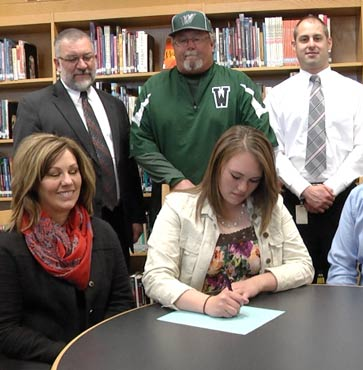 Butters Signed to Keuka College