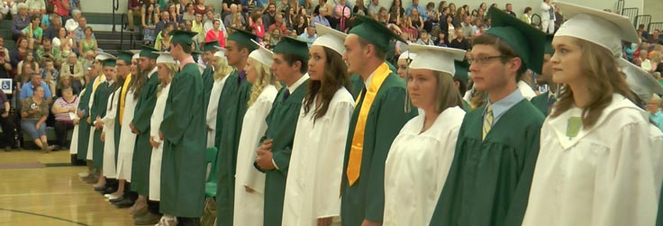 Wellsboro Class of 2015 Commencement