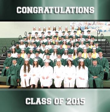 Wellsboro Class of 2015 Commencement