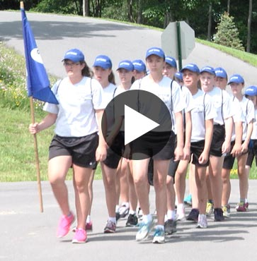 Camp Cadet Aims to Save Lives