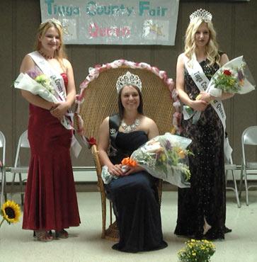 2015 Tioga Fair Queen Crowned