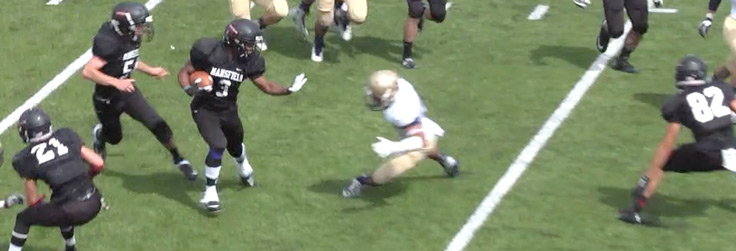 Midshipmen Too Much for Mounties