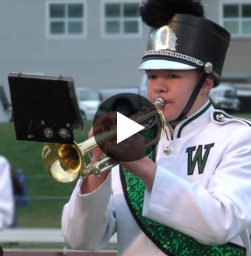 It's the Marching Band Spirit…