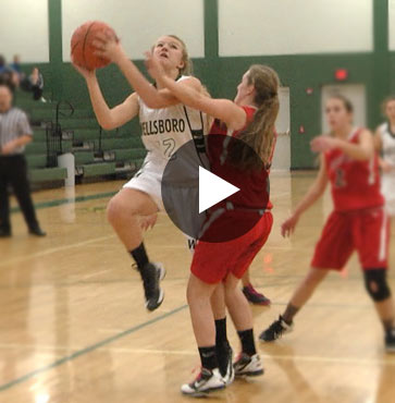 Lady Hornets overtake Canton, 65-18