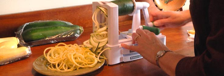 For the Love of Food – Spiralizer Squash