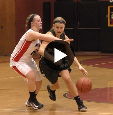 Lady Hornets lead 4th Quarter Victory