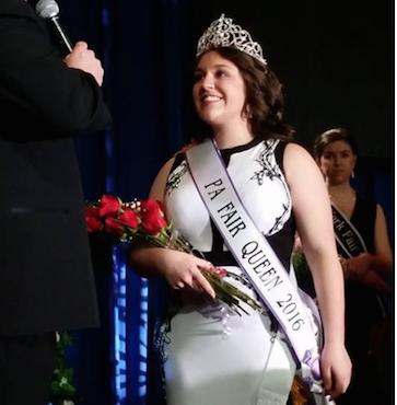 Kasper Wins State Fair Queen Title