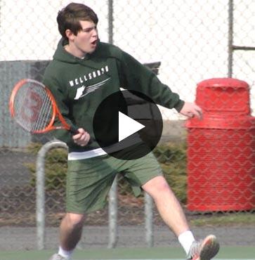 Wellsboro Boys Tennis sweeps Liberty