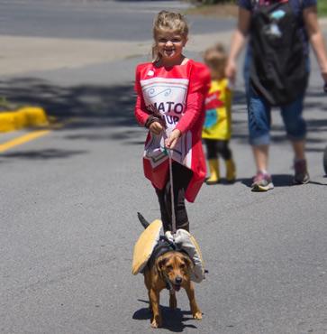 Pet Parade marches through Wellsboro