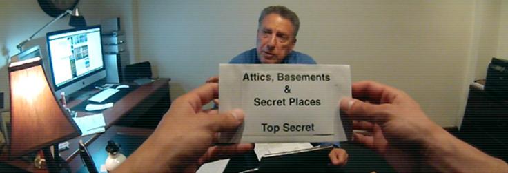 Attics, Basements & Secret Places Episode 4