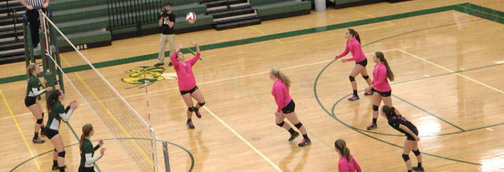 Troy edges Wellsboro Volleyball, 3-2