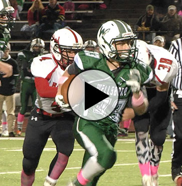 Hornets trounce Red Raiders, 62-6