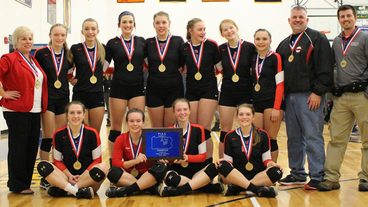 North Penn-Liberty captures District volleyball championship