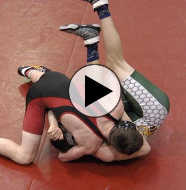Mounties wrestling defeats Wellsboro