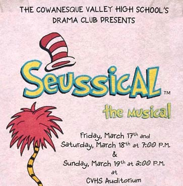 Anything Can Happen at Seussical the Musical!
