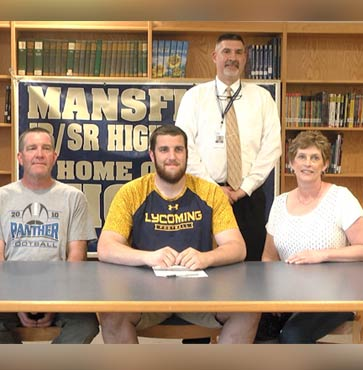 Kelly continues football career at Lycoming College