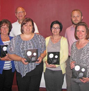 Six C&N Employees Earn Service Awards
