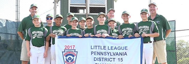 Little League District Champs!