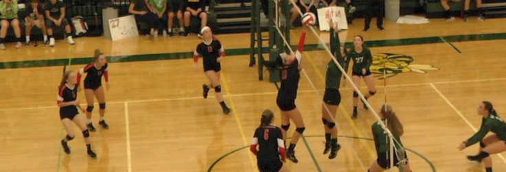 NP-Liberty wins Unbeaten Volleyball Battle