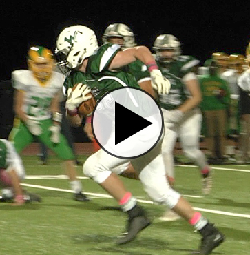 Hornets steamroll Wyalusing on Senior Night, 53-0