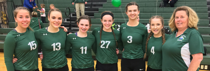 Lady Hornets shutout Galeton on Senior Night