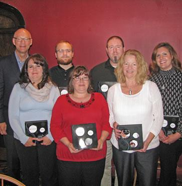 Six C&N Employees Earn November Service Awards