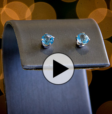 Behind the Sparkle : Blue Topaz