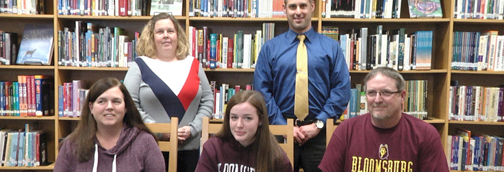 Keane to continue volleyball career at Bloomsburg