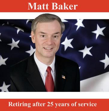 Matt Baker retiring after 25 years