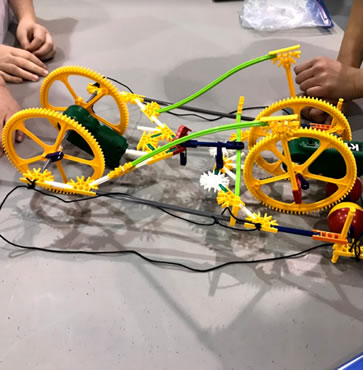 New Covenant Academy K'NEX Teams Tie for 3rd Place!