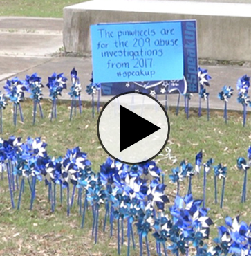 Child Abuse Prevention Event on the Green